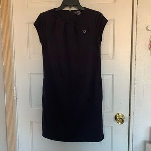 Chase apparel navy blue dress